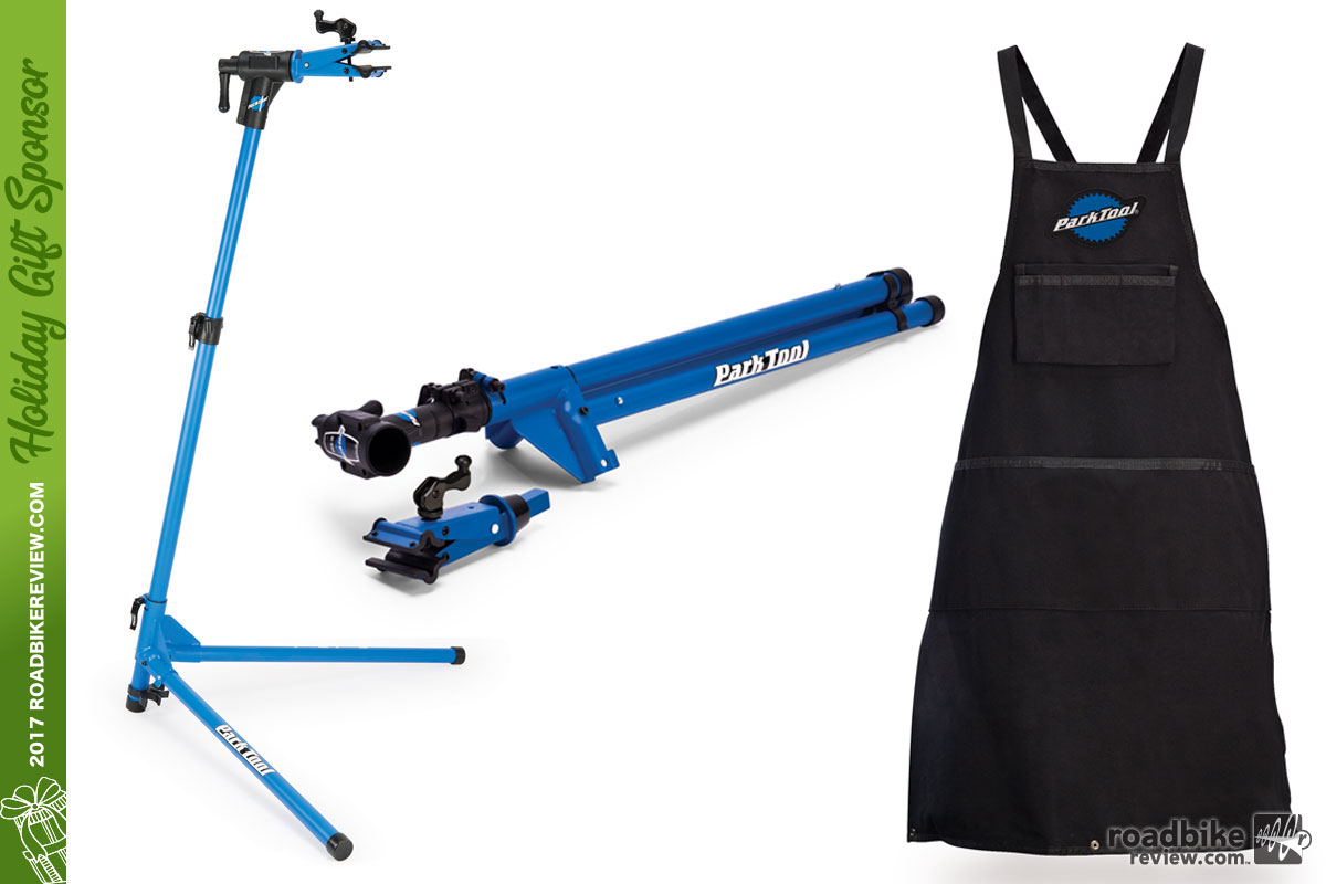 Park Tool Home Mechanic Repair Stand and Heavy Duty Shop Apron