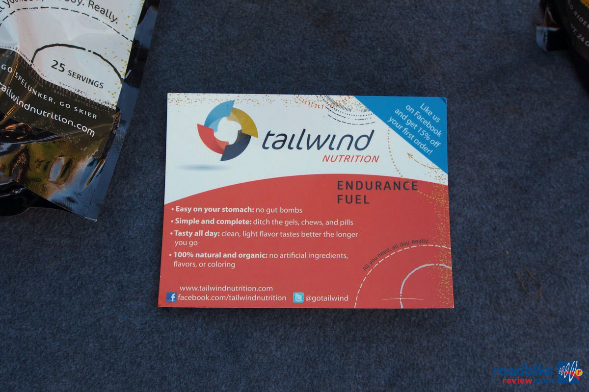 Tailwind Nutrition Info Card