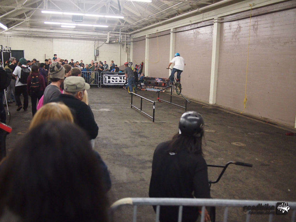 SF Bike Expo - rail jam