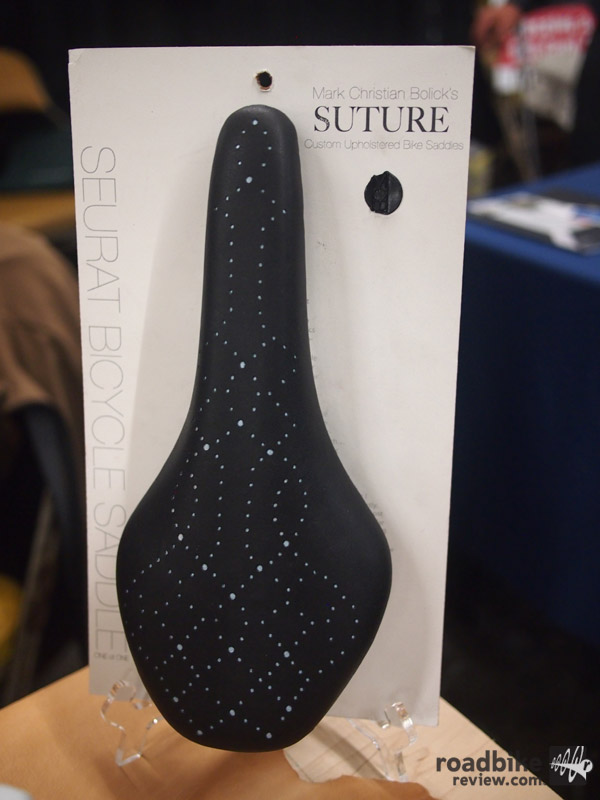 Suture - custom upholstered bike saddles