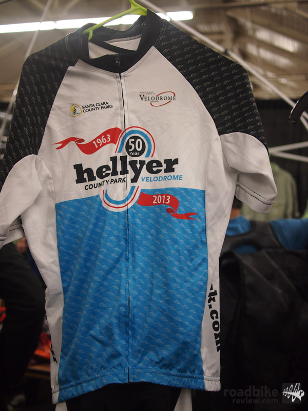 Hellyer Velodrome 50th Anniversary Jersey