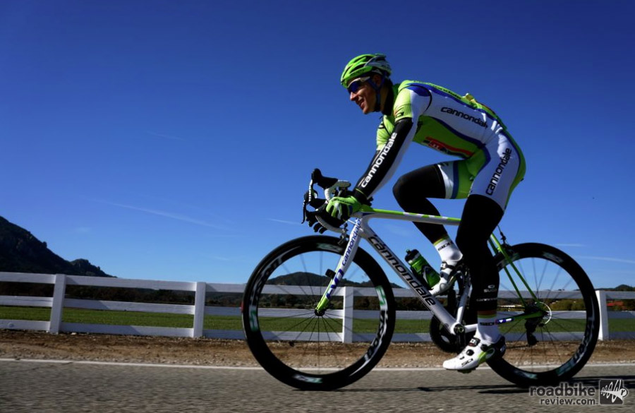 Peter Sagan rides top-level gear, and he rides it a lot! Photo courtesy of Art's Cyclery