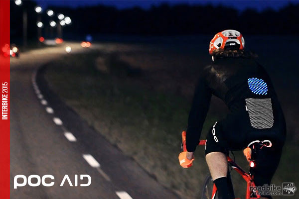 POC is looking to use independent active light as opposed to the traditional passive reflective technology used on most bike apparel.