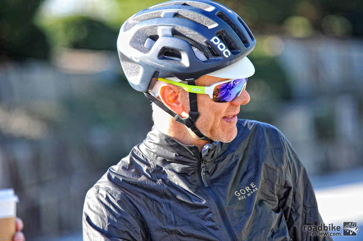 The Octal offers more side-of-head coverage than most road helmets.