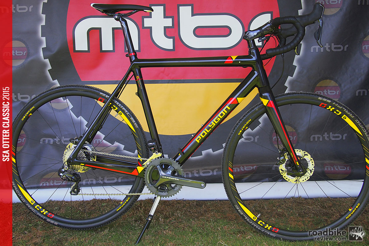 The Bend CX is currently available with a Shimano Ultegra Di2 groupset, Shimano R785 hydraulic disc brakes, and a Novatec CXD tubeless ready wheelset with Schwalbe Racing Ralph Evo tires.