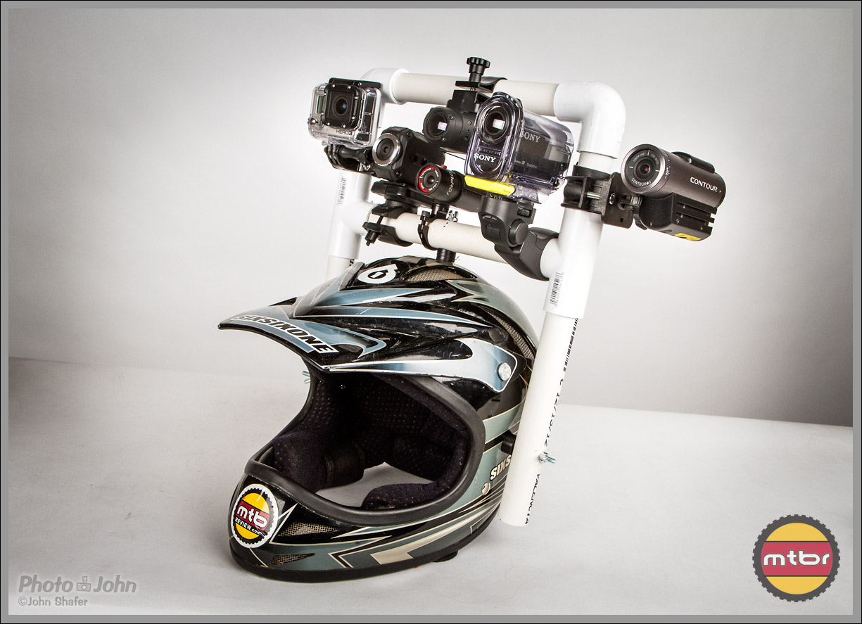The POV Action Cam Shootout Helmet
