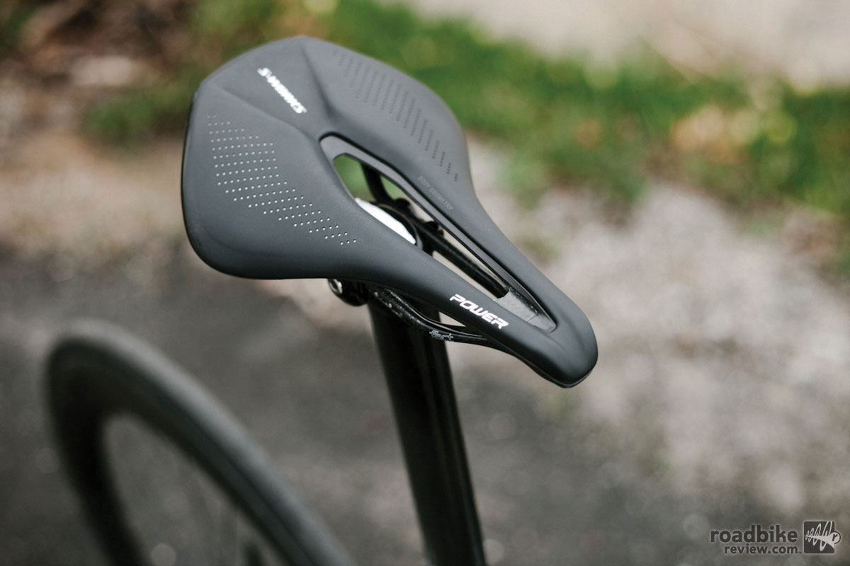 The S-Works model is a little lighter and a bit more expensive at $300.