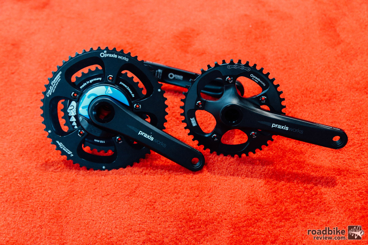 Prototype with Power2Max power meter integrated.