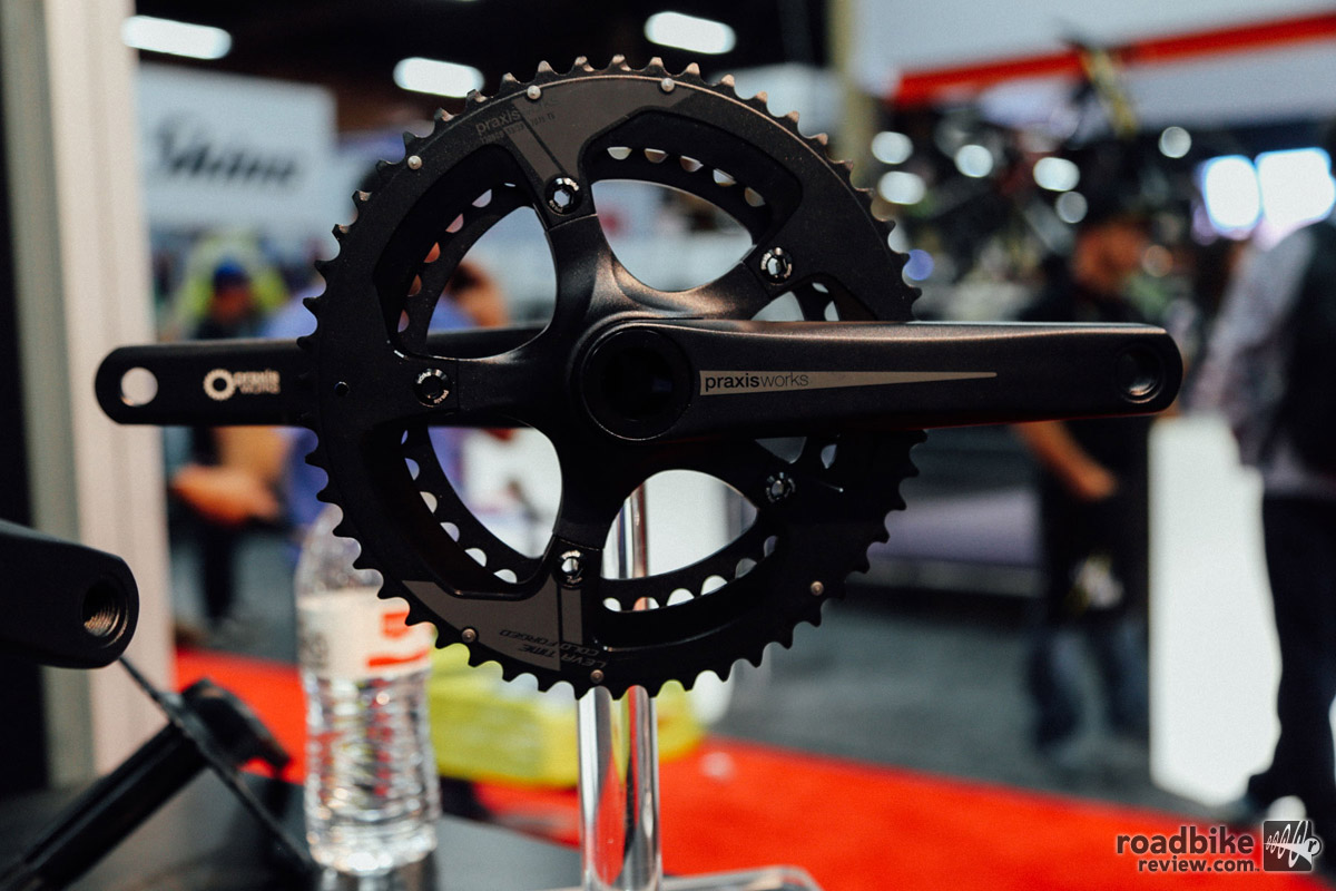 The Zayante and Alba crank are named after the two toughest climbs in Santa Cruz, CA, where Praxis is based.