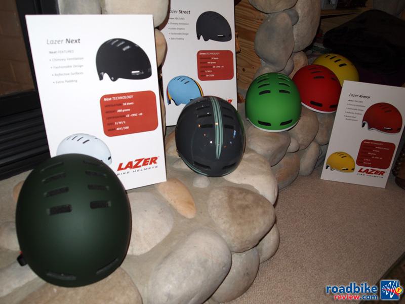 Lazer commuter helmets