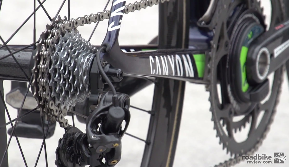 Nairo Quintana's Canyon Ultimate CF SLX
