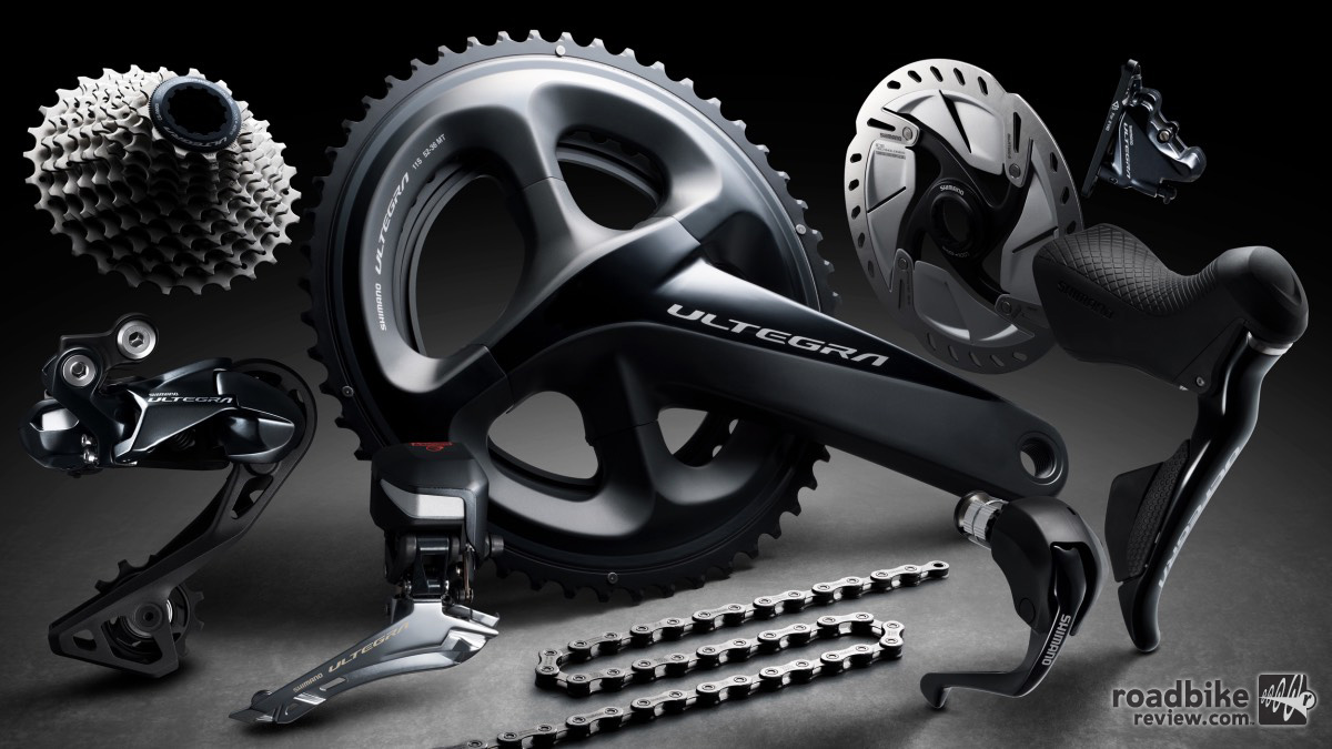 New Shimano Ultegra R8000 drivetrain and components