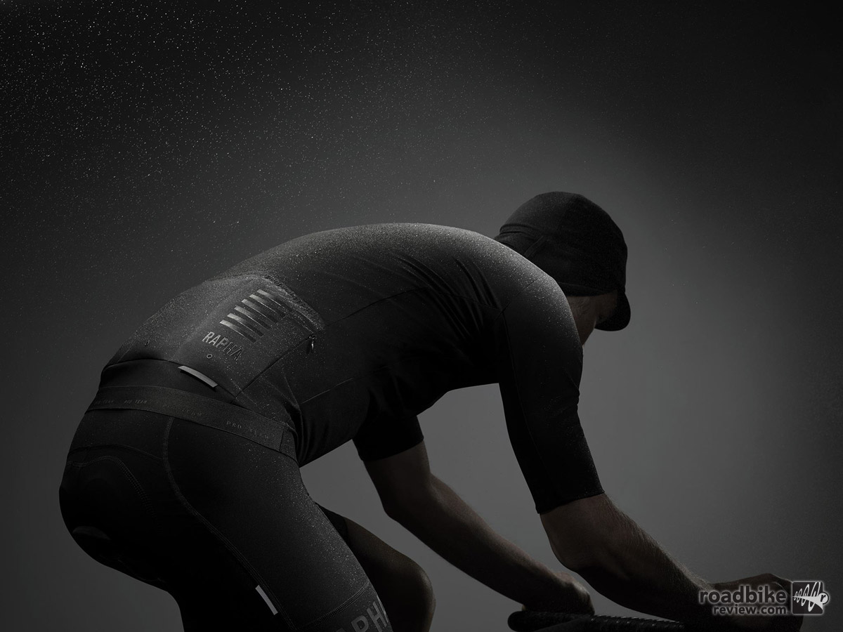 Shadow is a breathable, highly protective single layer made possible by a pioneering, Italian-milled, stretch-woven fabric that contours to fit the position of a racing cyclist.