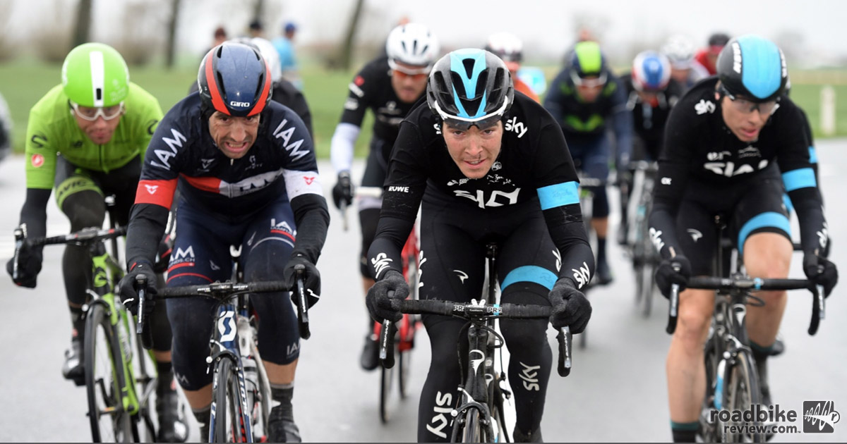 Team Sky riders tested the new technology at last spring's classic races.