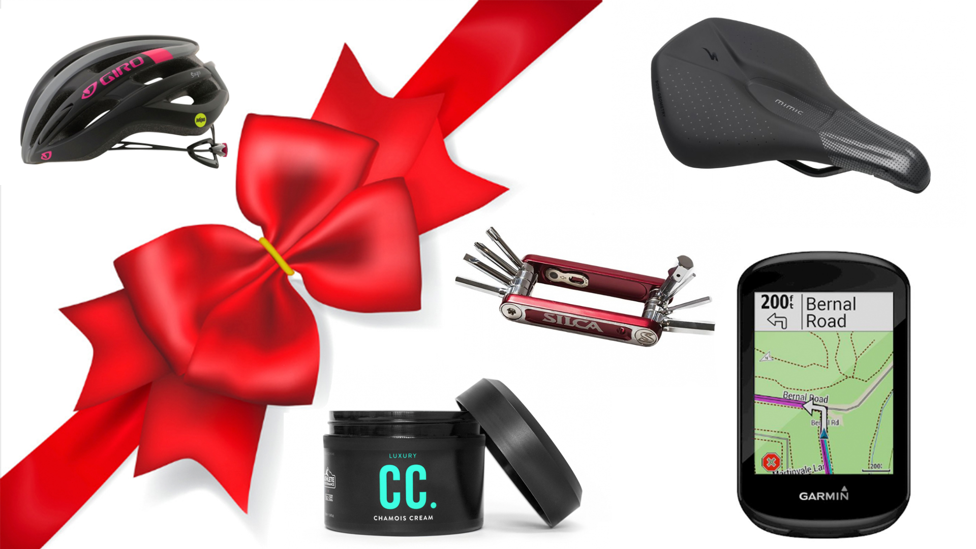 Check out these great gift ideas for the cyclist on your shopping list gift.