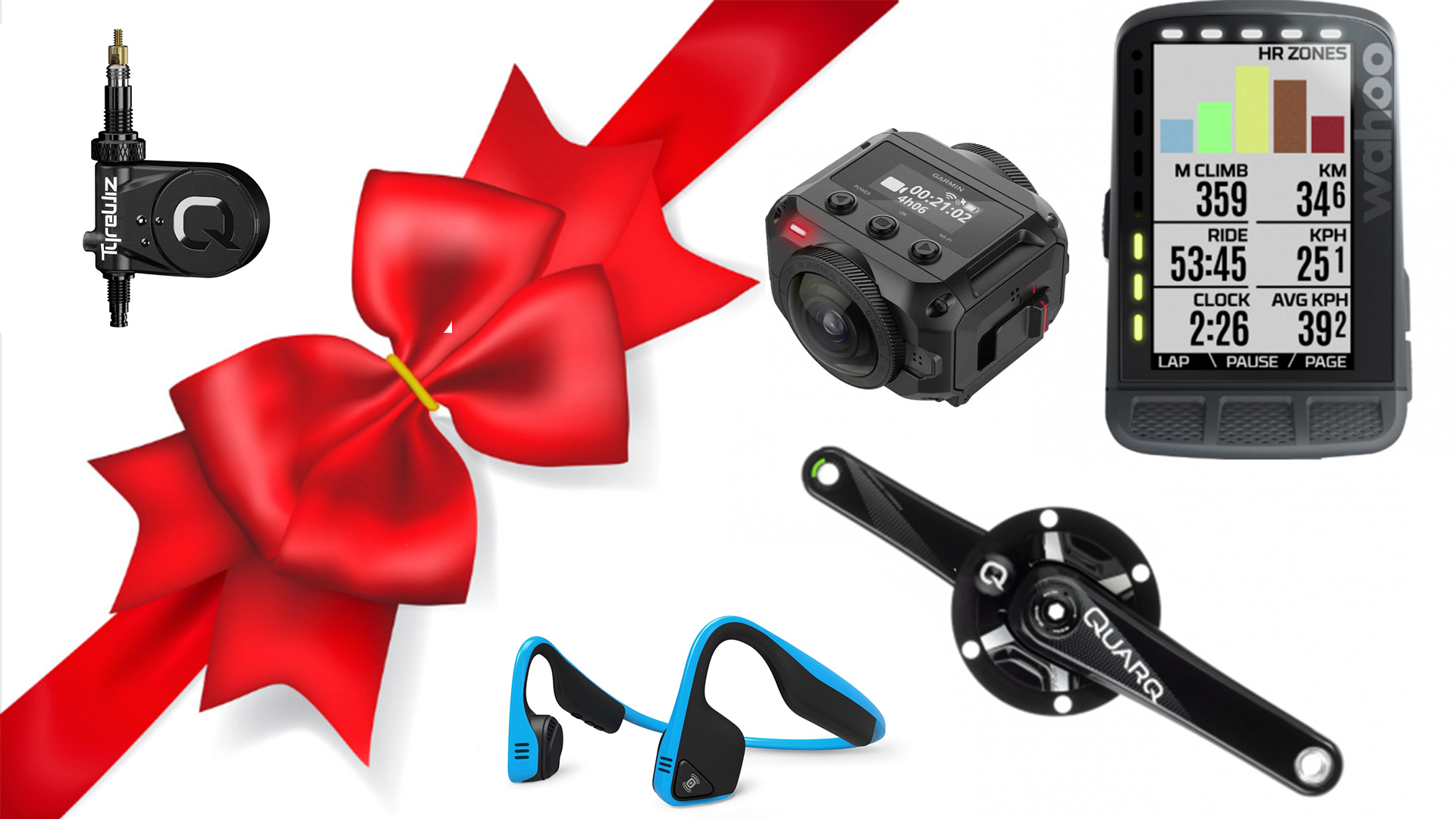 If your significant cyclist (or yourself) love leading-edge gear, this gift list is for you.