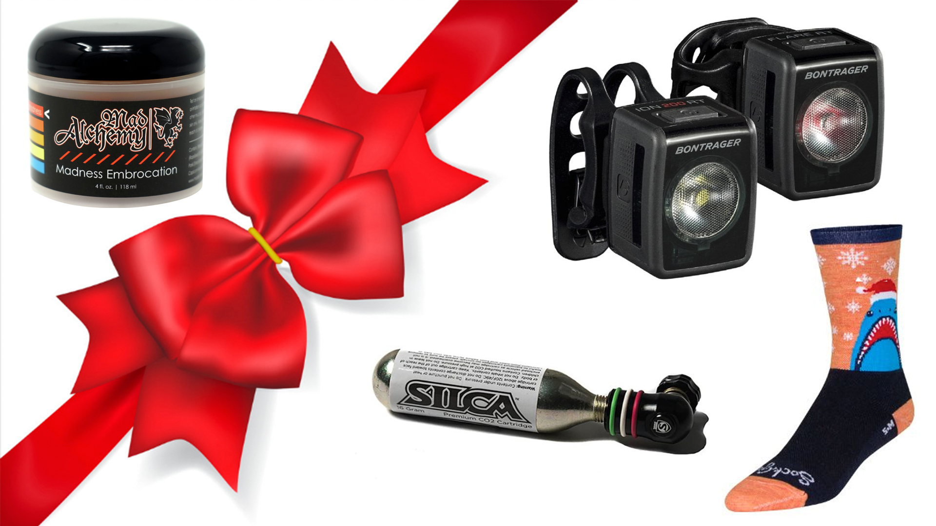 Check out these great stocking stuffers for the cyclist on your list.