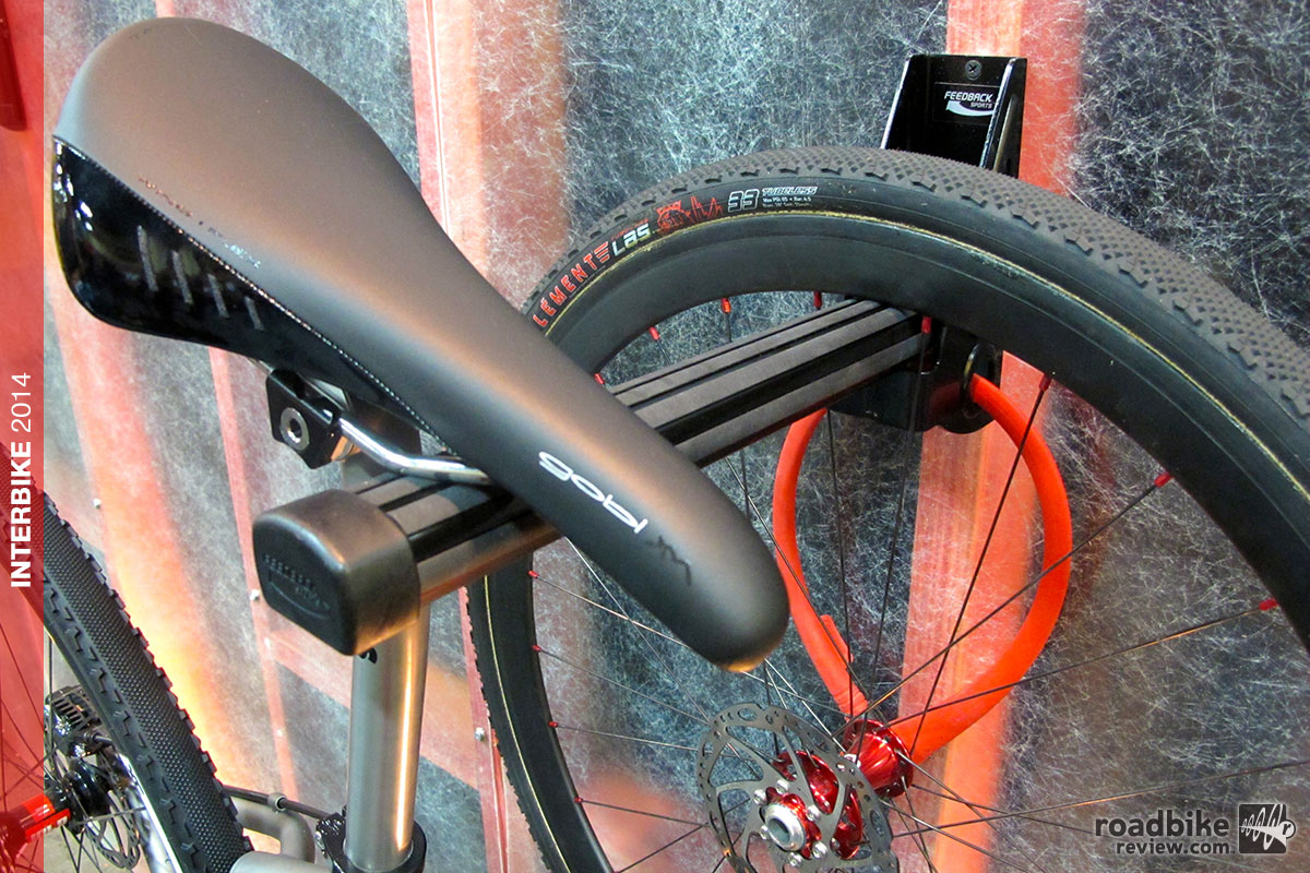 Interbike Feedback Sports Velo Wall Post Storage Solution