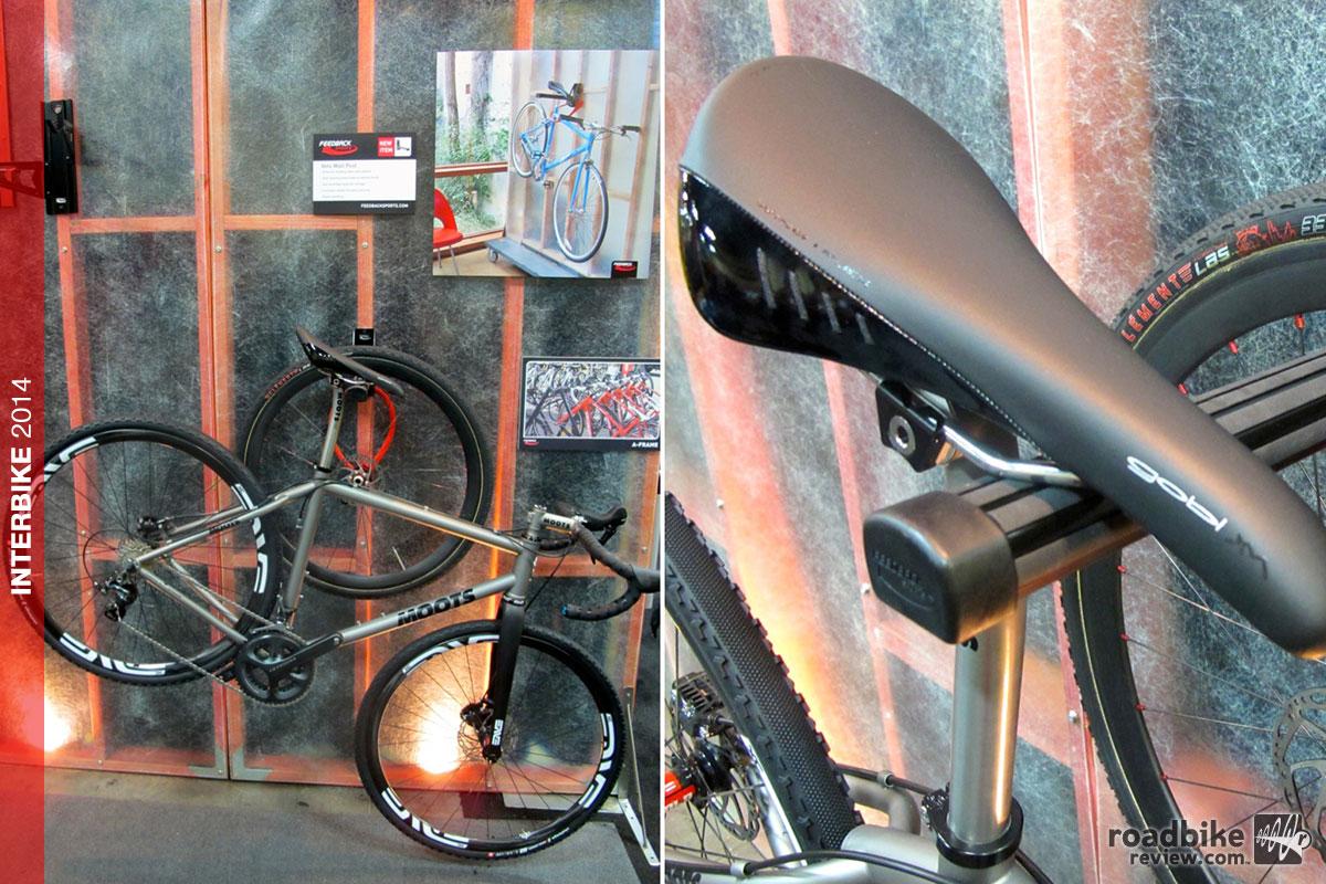 Interbike Feedback Sports Velo Wall Post Storage Solution