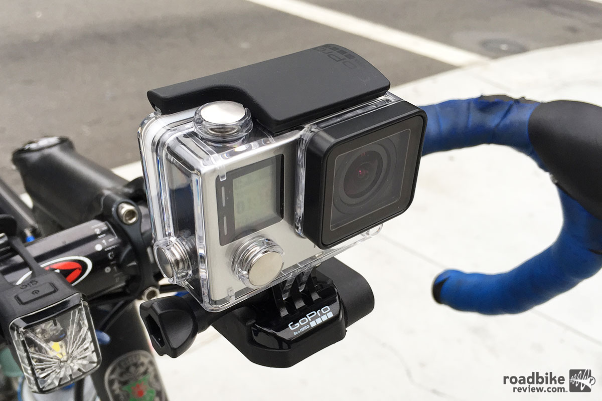 The new GoPro HERO4 Silver Edition.