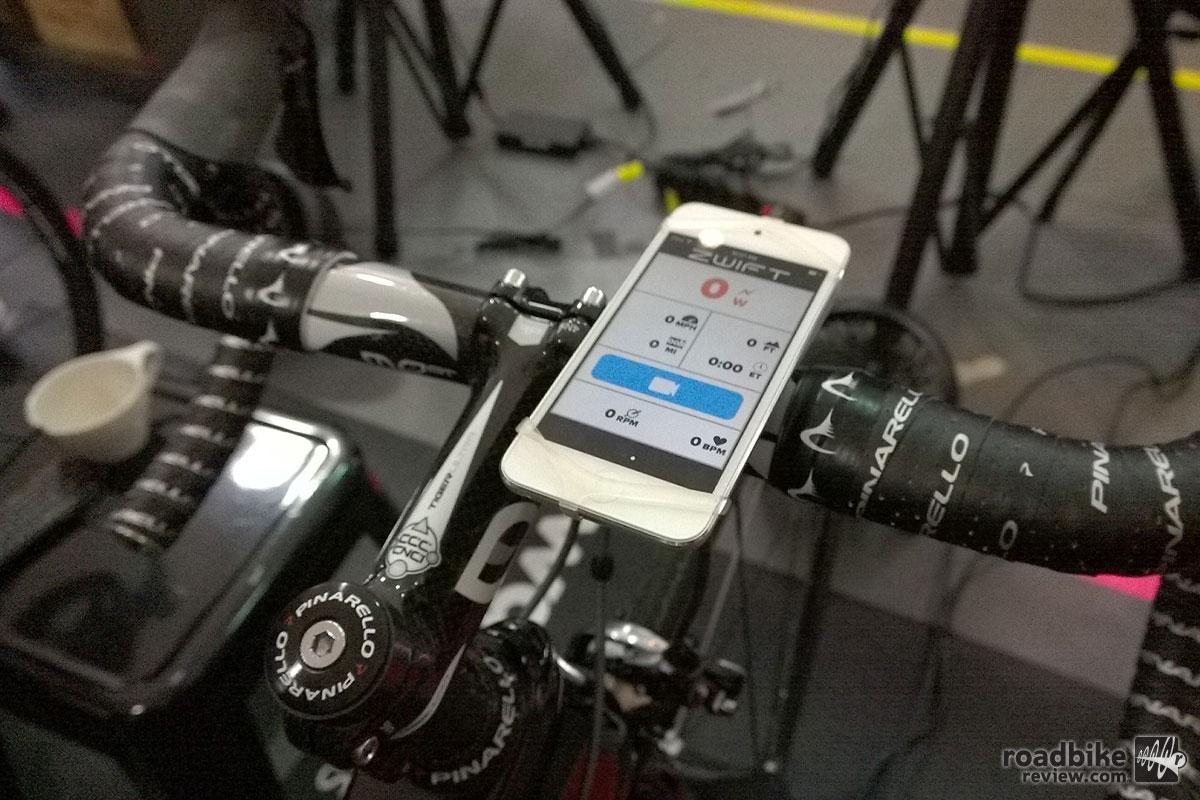 Zwift Smartphone