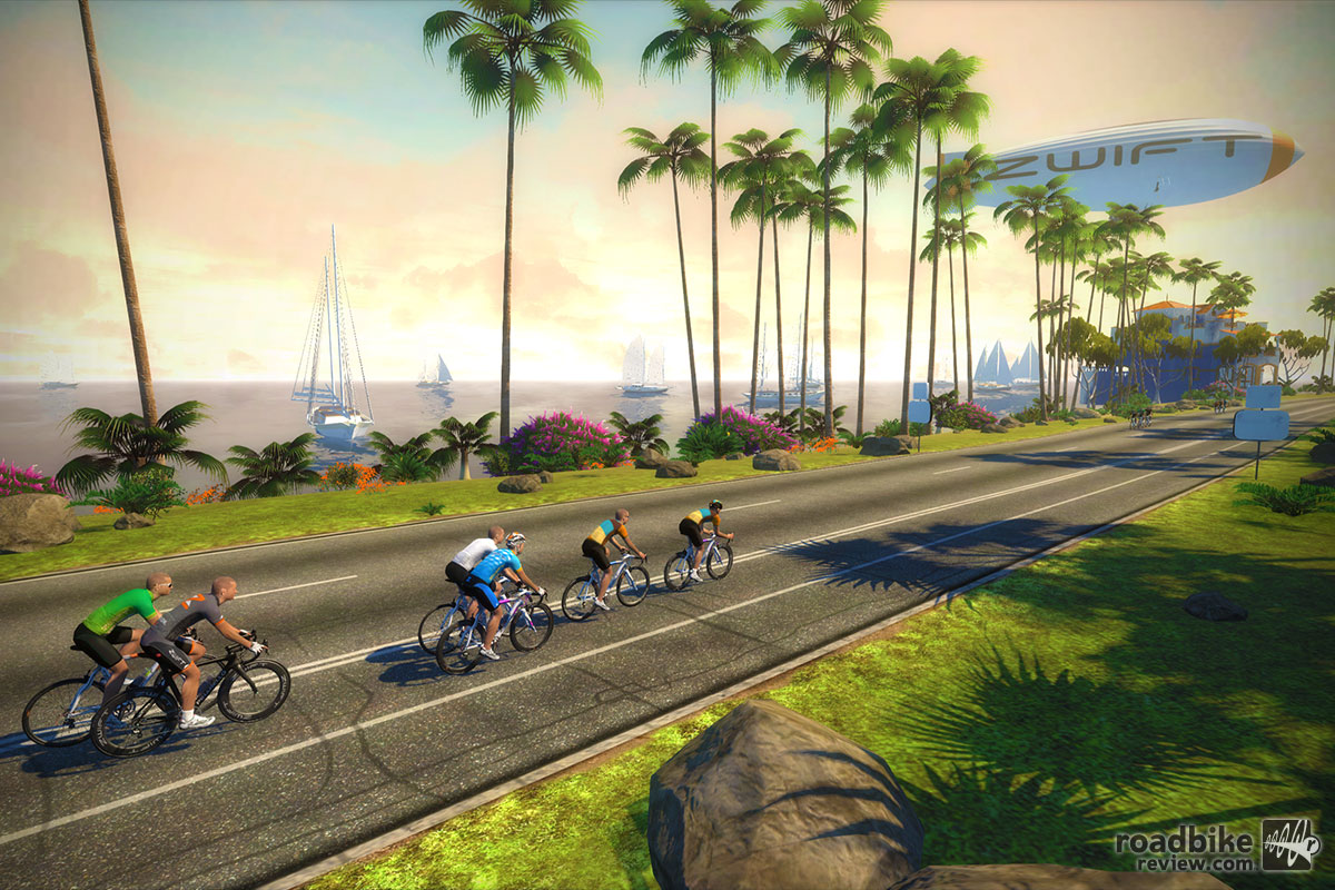 Zwift combines social video gaming with indoor cycling in new