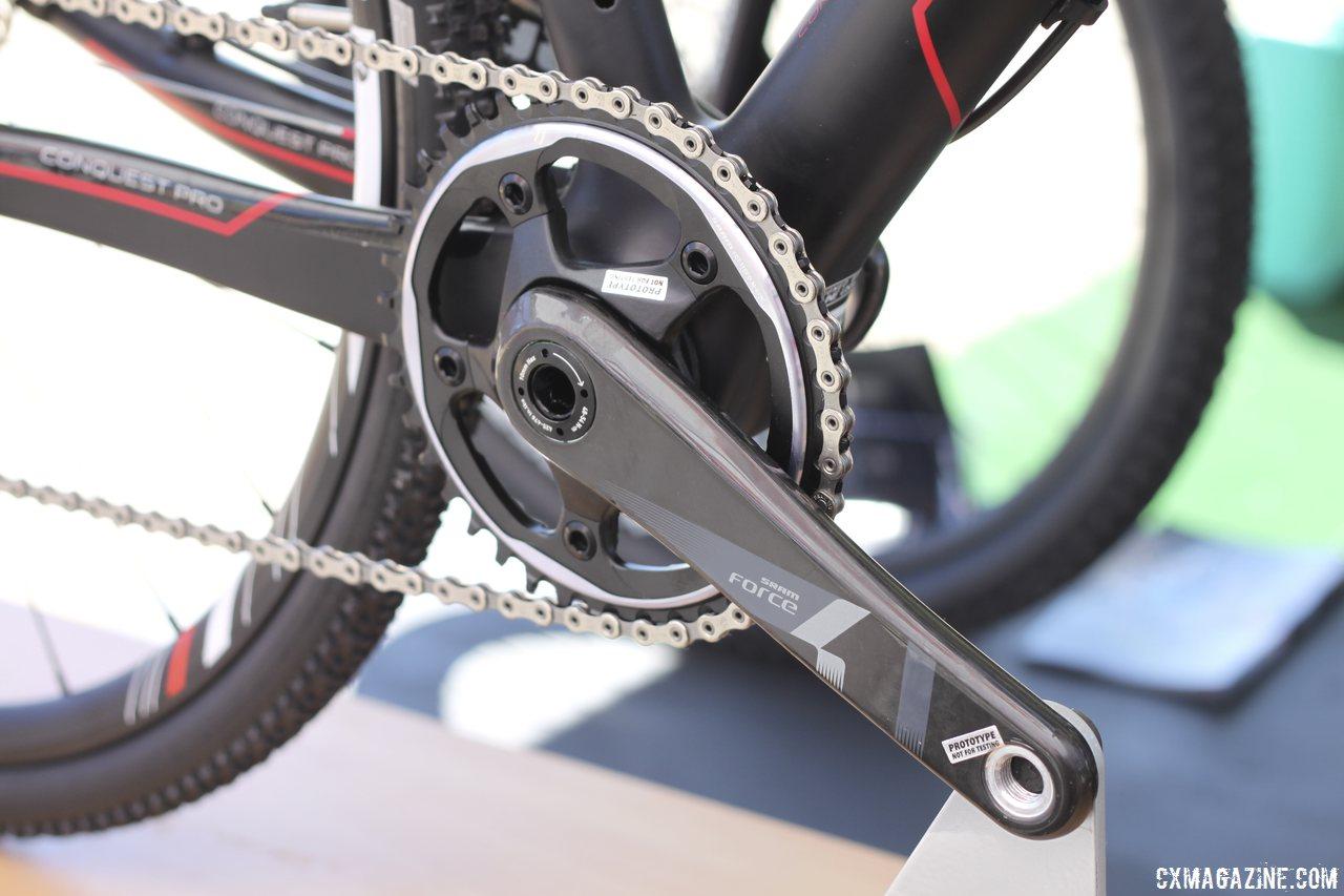 SRAM CX1 saves weight