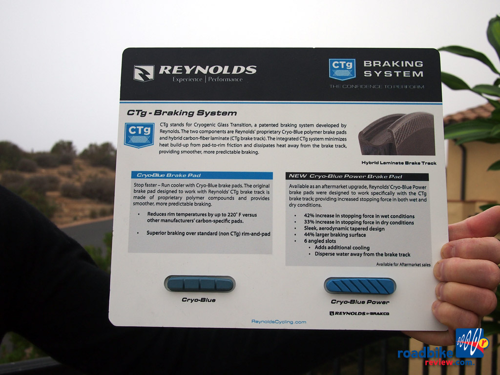 Reynolds Cycling - Cryo Blue Power Pads
