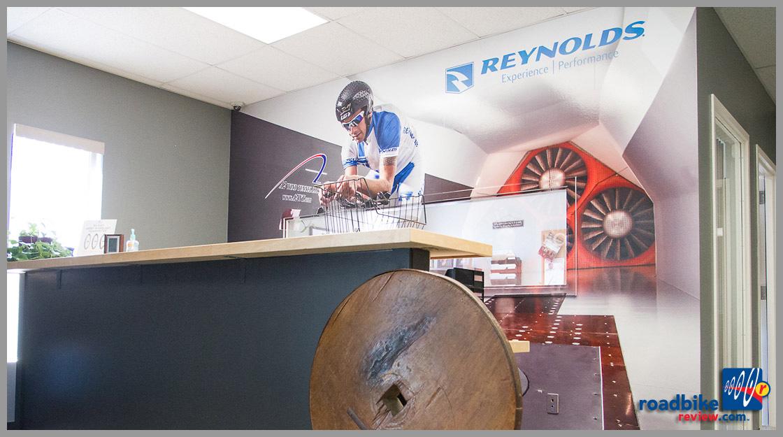 Reynolds Cycling - lobby