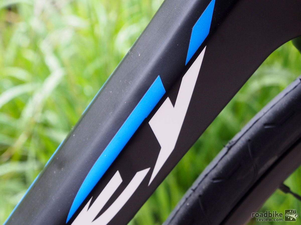 Ridley Fenix Disc Downtube