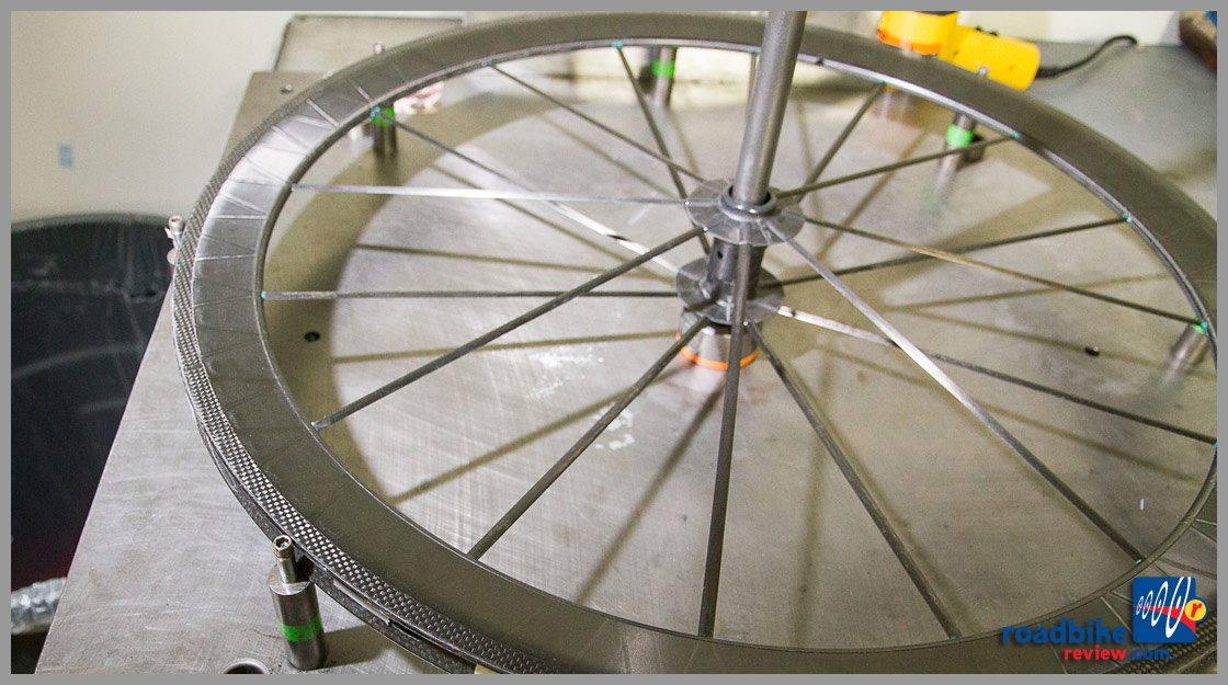 wheel creation - rim spokes