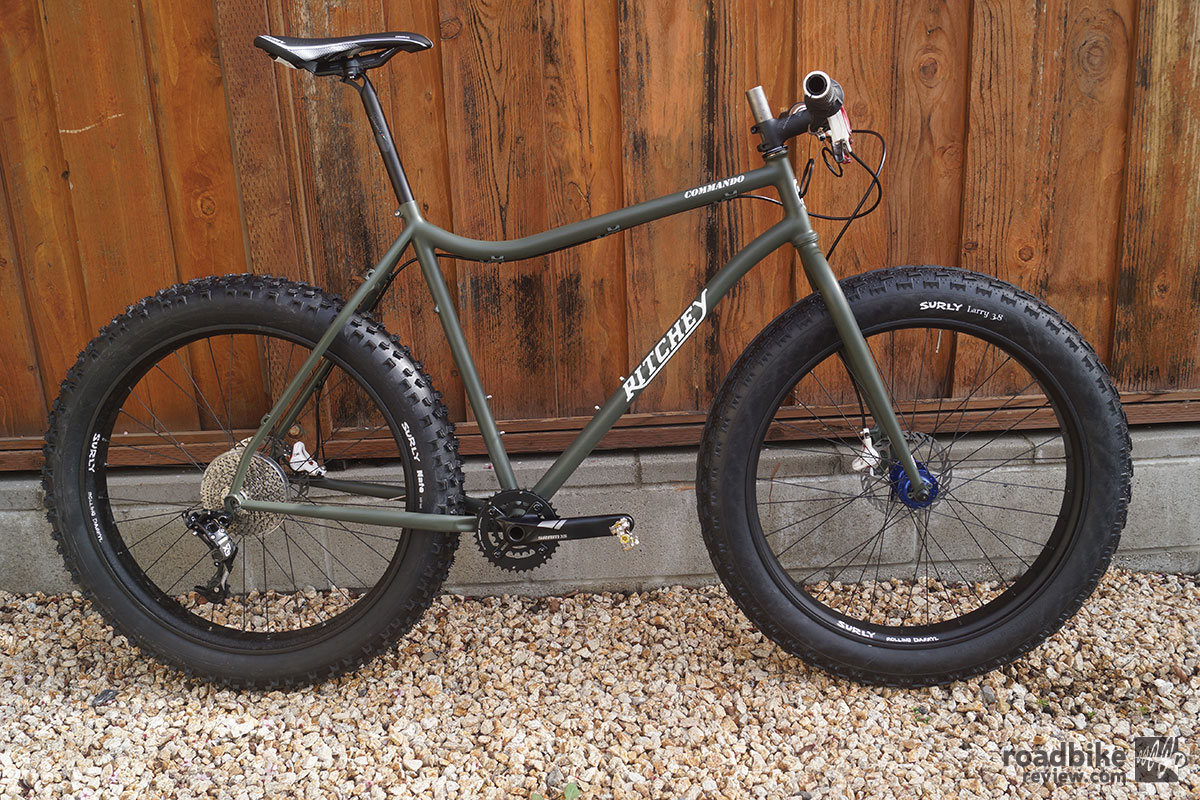 Ritchey Commando Fatbike Profile