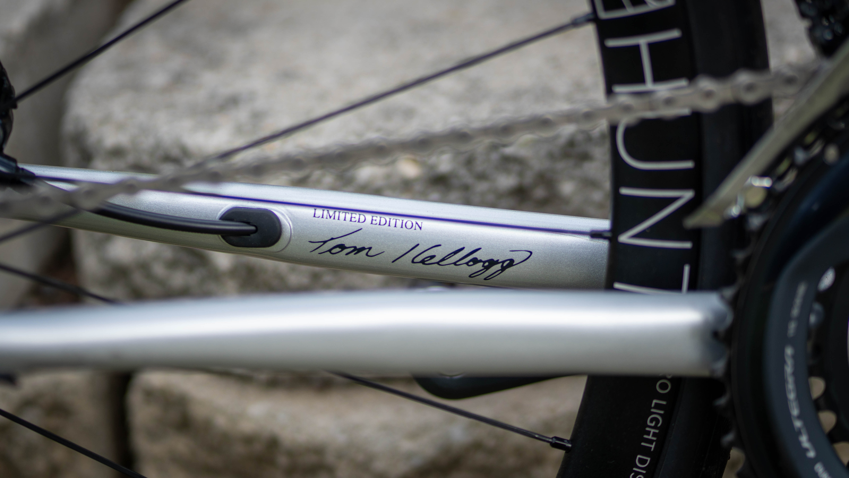 Designed by UCI World Championship winning frame builder Tom Kellogg.