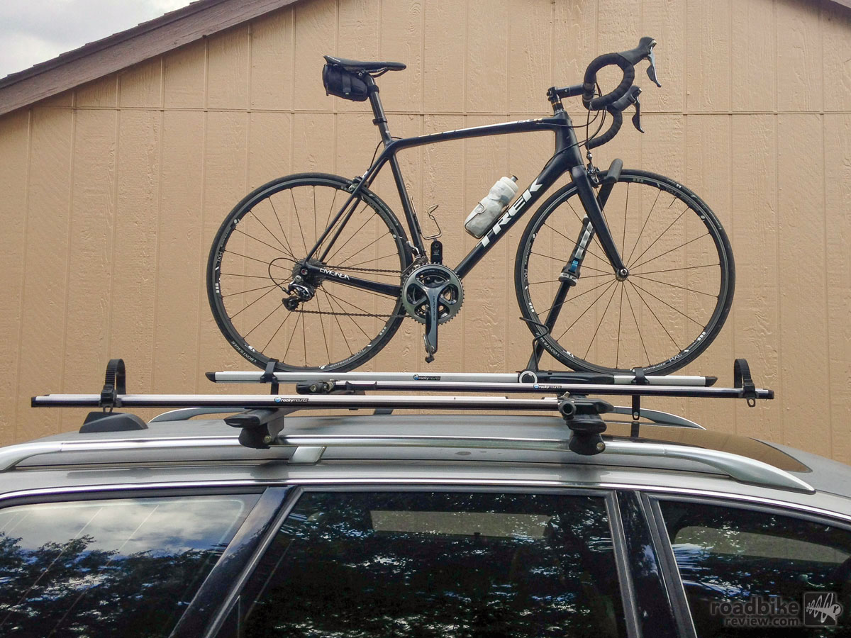First Look Rocky Mounts Brassknuckles Upright Roof Rack