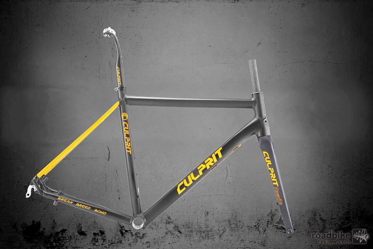 Culprit Roadi Frame Black/Yellow