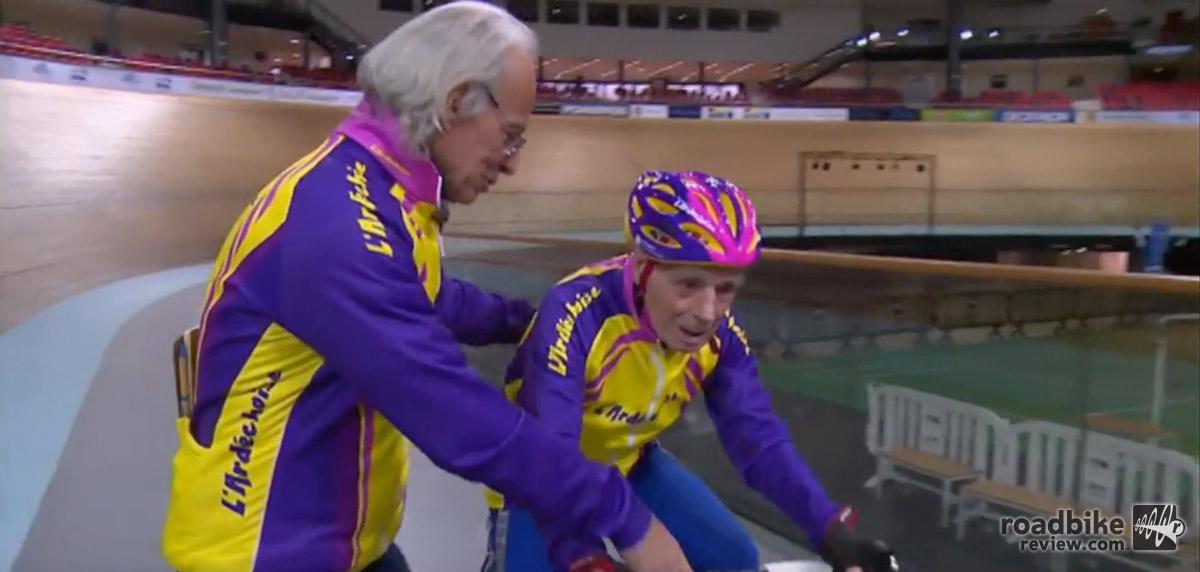 Robert Marchand centenarian cyclist