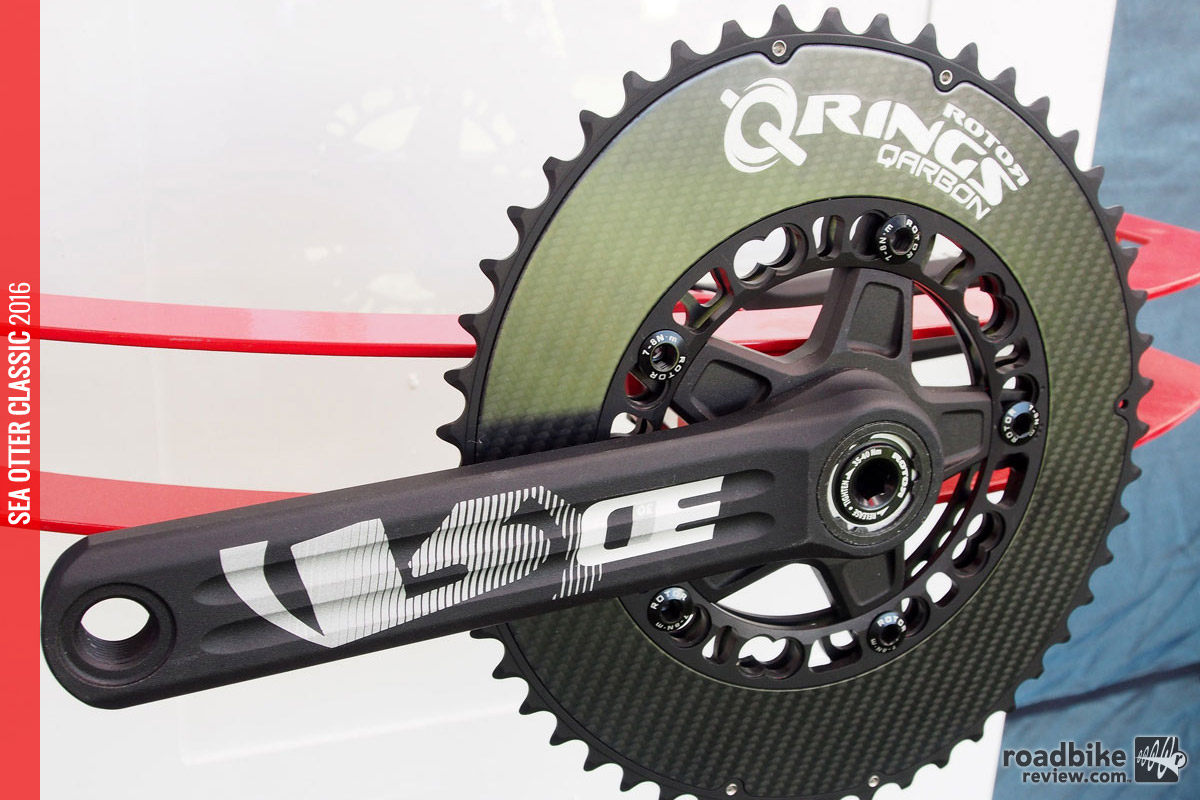 Love the look of these lightweight carbon ovalized chainrings.