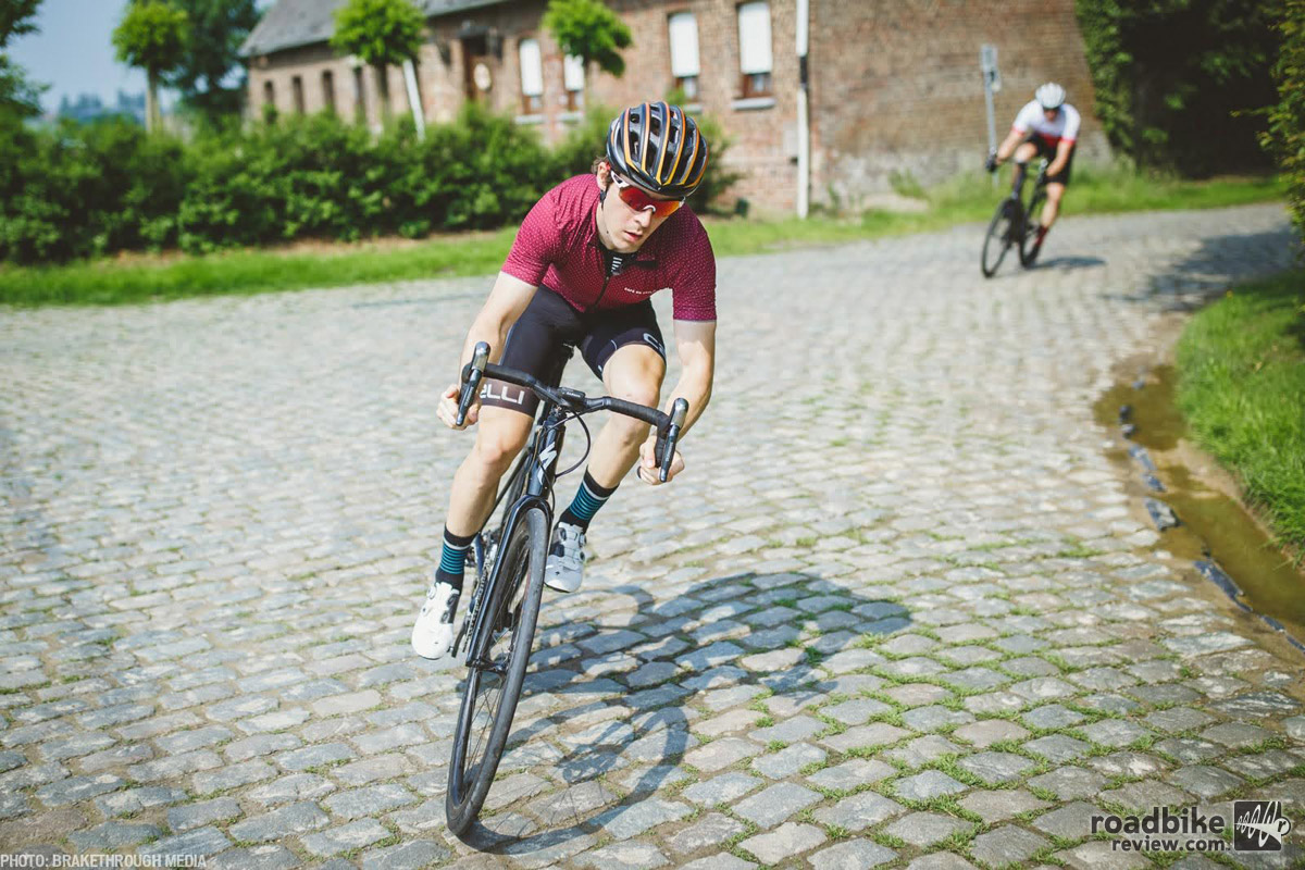 The Roubaix at home on the cobbles.