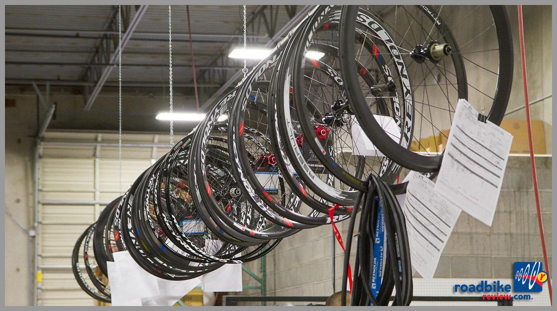 row of wheels