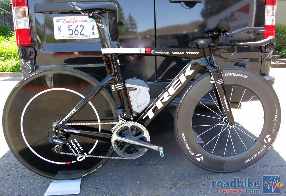 Bikes Of The Tour Radioshack Nissan Trek Speed Concept