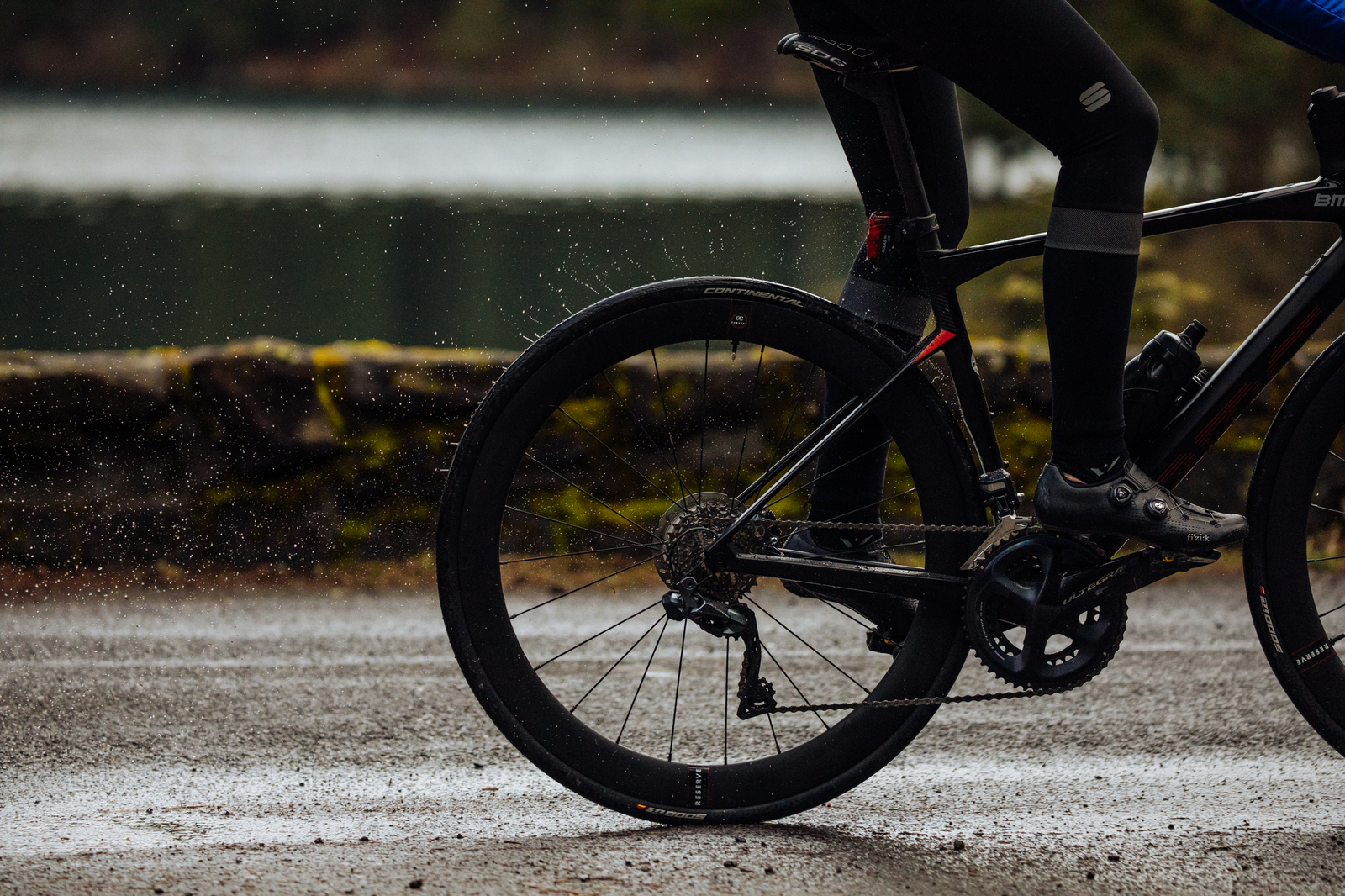 Reserve wheels were developed in partnership with Cervelo.