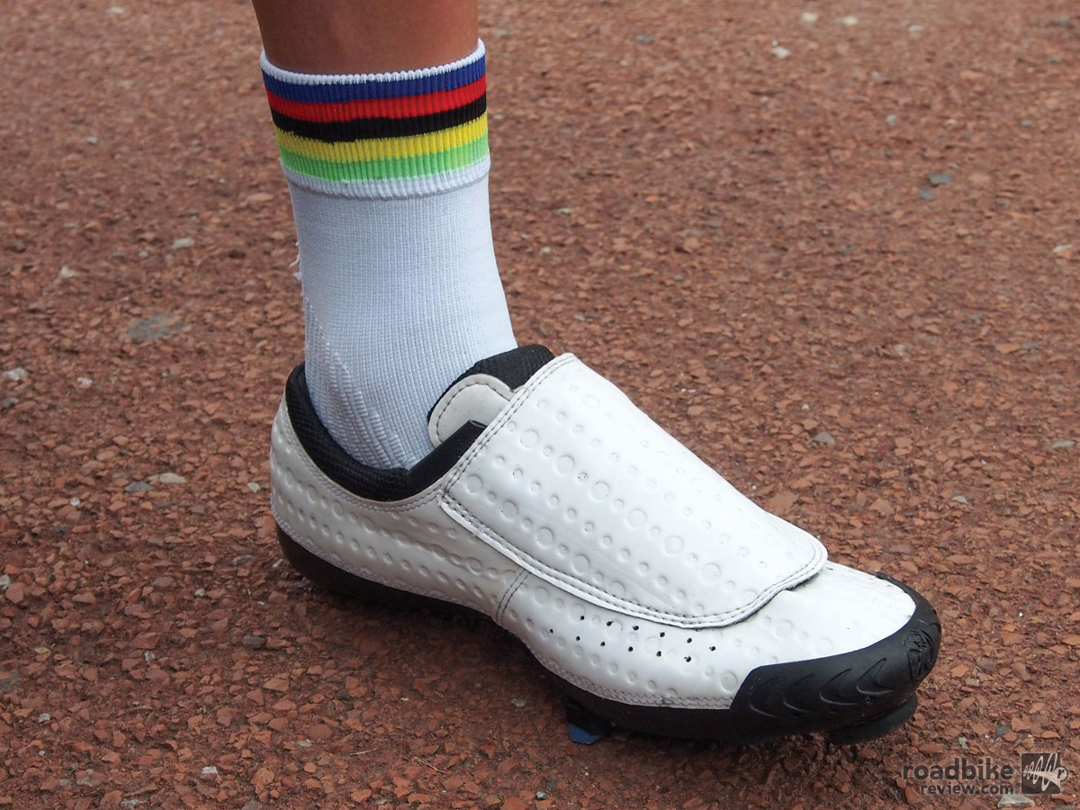 Shoes of the Tour de France Peloton