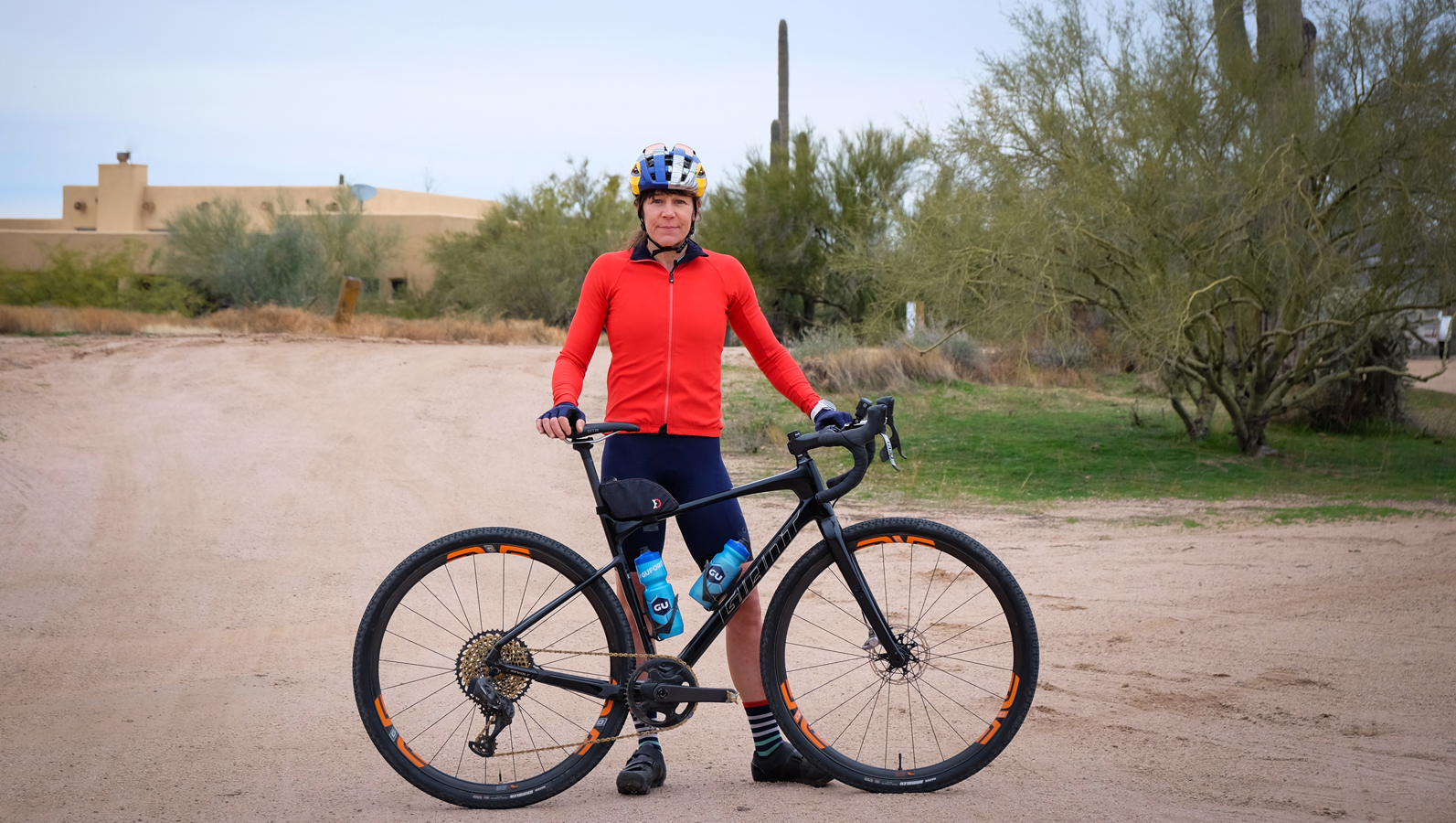 Rebecca Rusch teams up with Giant and will tackle this year's gravel races on the Revolt Advanced.