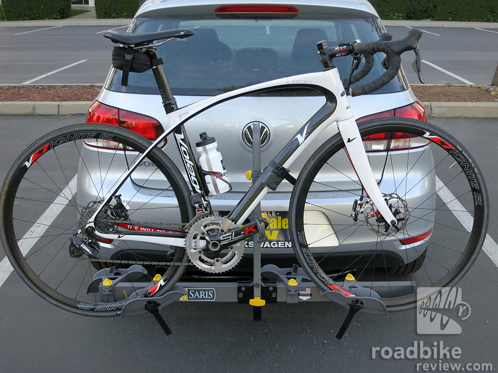 Review Saris Freedom Hitch Rack Road Bike News Reviews