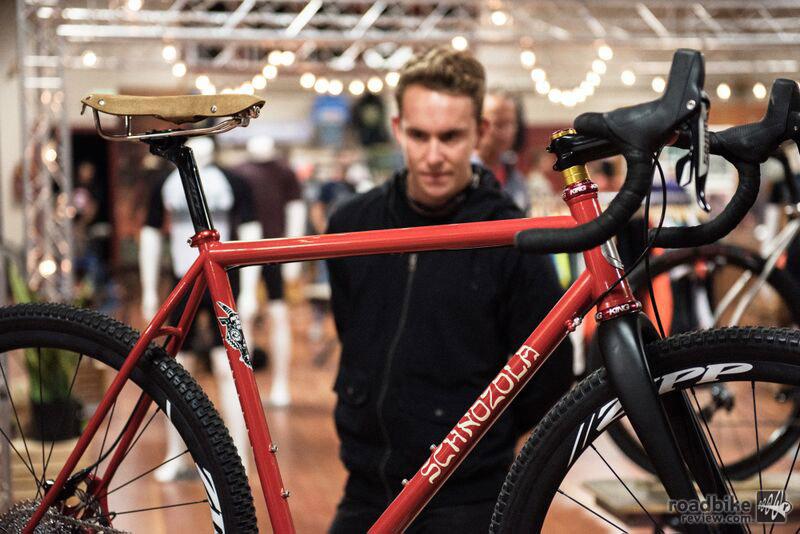 Those who appreciate fine art and handmade bikes had plenty of mesmerizing moments at Grinduro. Photo by Jordan Haggard