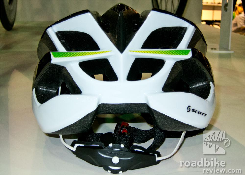 Scott Vanish Evo Helmet Rear