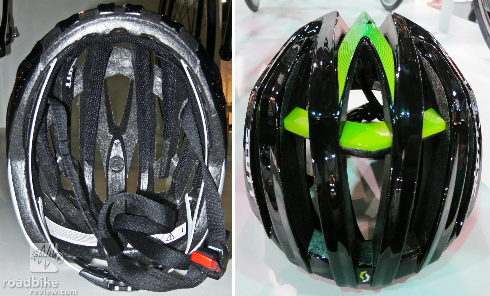 Scott Scott Vanish Evo Helmet Top and Bottom