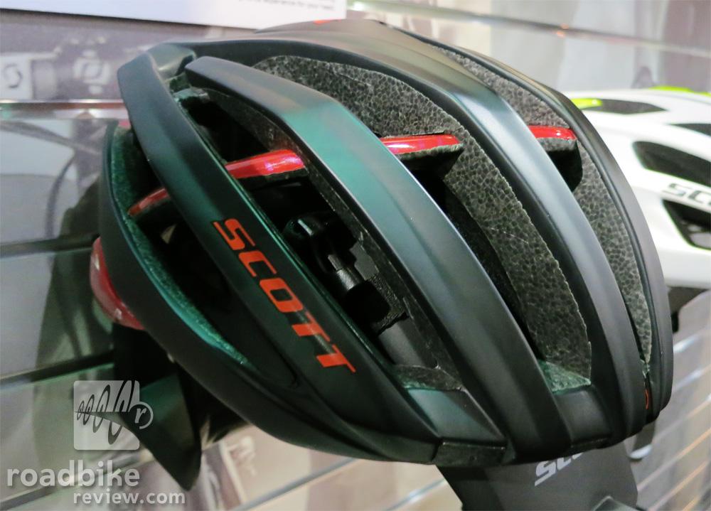 Scott Vanish Evo Helmet Black and Red