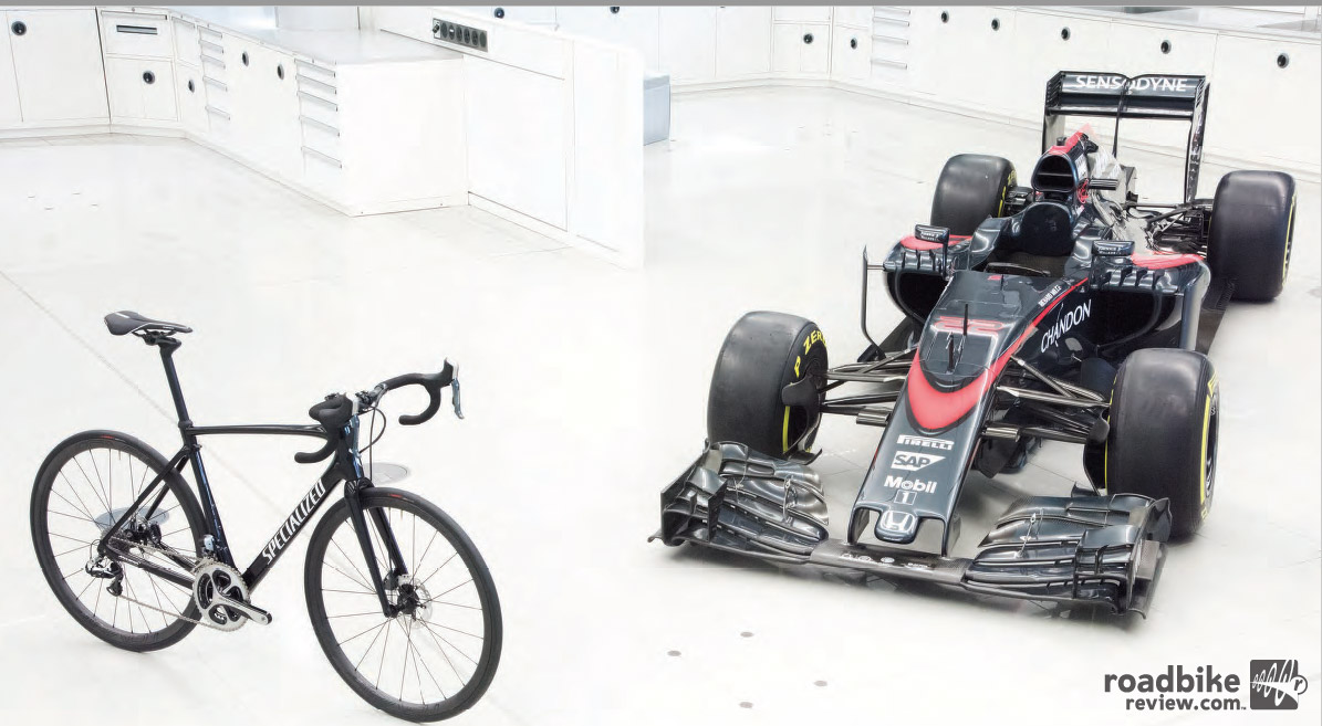 Quick comprehension quiz? What do the Roubaix and an F1 car have in common?