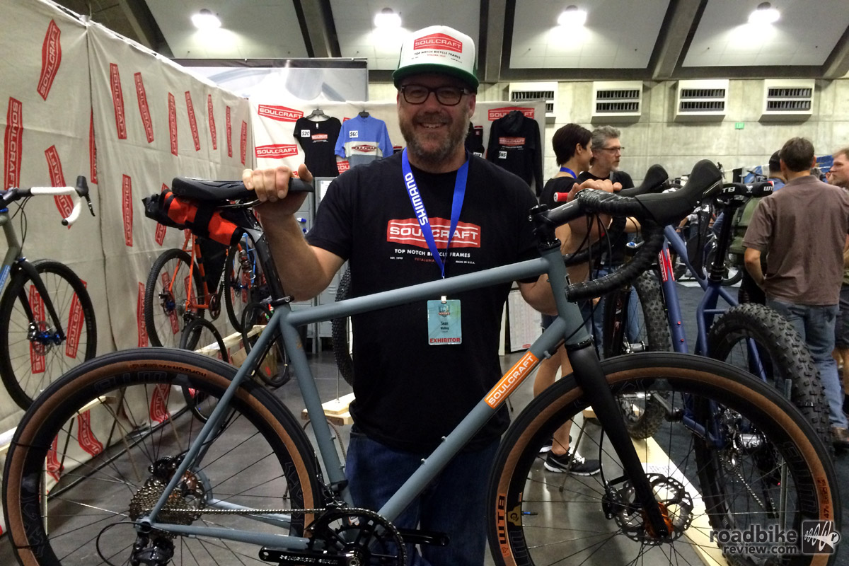 Sean Walling has been building road and cross bikes under his Soulcraft brand since 1999.